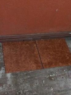 Tile for floor