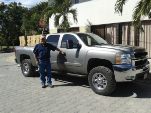New truck delivering 1 ton of Bibles for Bible distribution